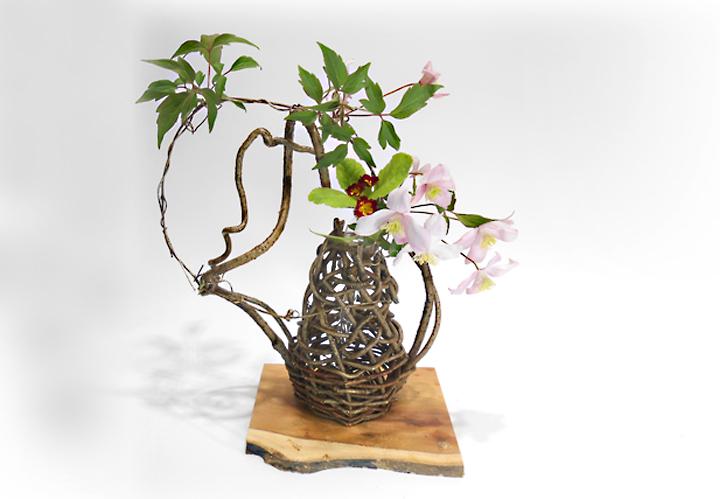 花生れ 蔓籠