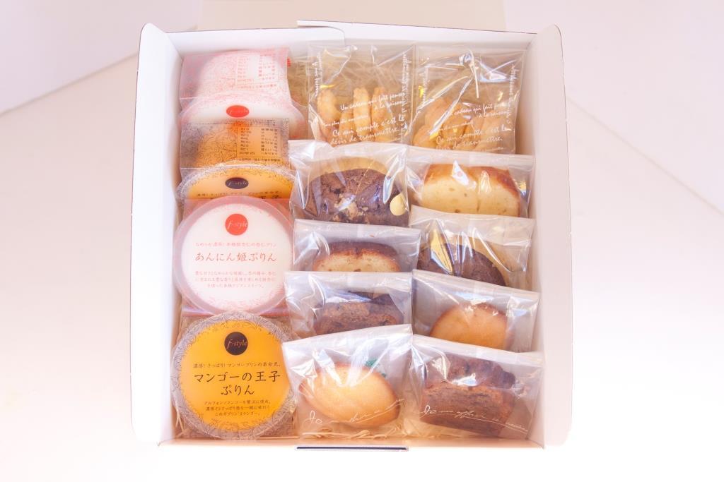 ルクールエイトプラス / プリンと焼菓子のセット